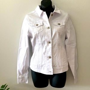 Maurices White Jean Jacket